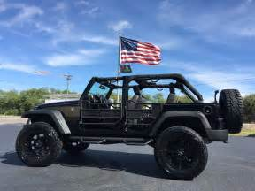 Jeep Rubicon Lifted 2016 Jeep Wrangler Unlimited Rubicon Custom Lifted Leather