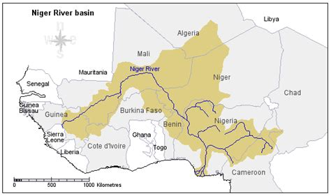 niger river map pics for gt niger river africa map