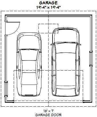 Size Of Two Car Garage by Standard Size 2 Car Garage Door Standard Wiring Diagram