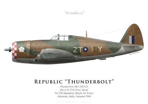 foto raf ve video aray n nf thunderbolt mk i no 258 squadron raf 1944 brave people