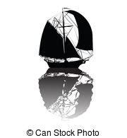 dessin bateau silhouette bateaux voile collection voile collection bateaux