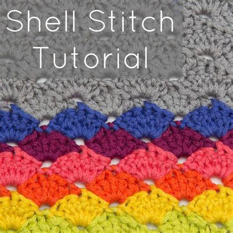shell pattern crochet video crochet shell stitch shells and stitches on pinterest