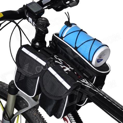 Bicycle Storage Bag Black yanho multifunctional bicycle handlebar mounted storage