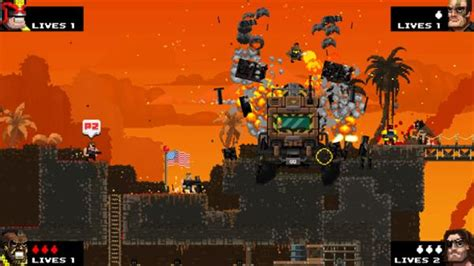 broforce gets full game release in march preview broforce undiluted testosterone addiction