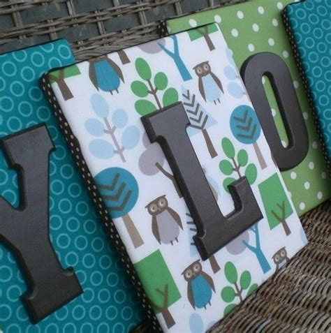 fabric covered wooden letters the world s catalog of ideas
