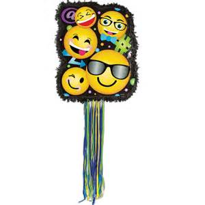 Purple Balloons Decorations Emojicon Lol Pinata