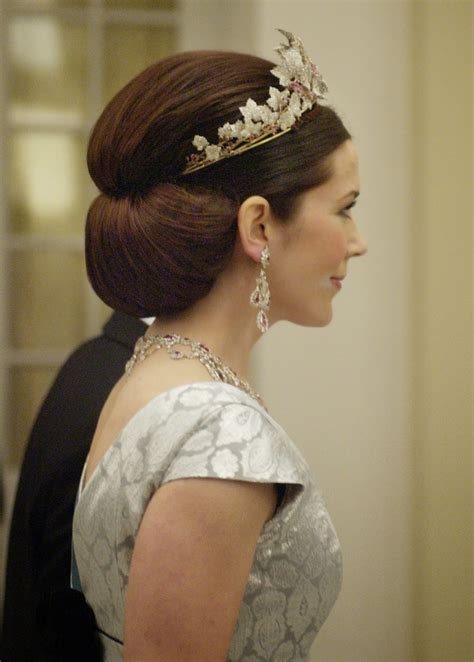 princess mary hairstyles mary from the start prewedding gala banquet