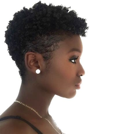 tappered pixie hairstyles for black women tapered cut natural hair cuts and shapes pinterest