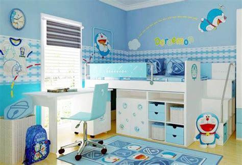 desain kamar serba doraemon desain kamar anak tema doraemon terbaru rumah bagus