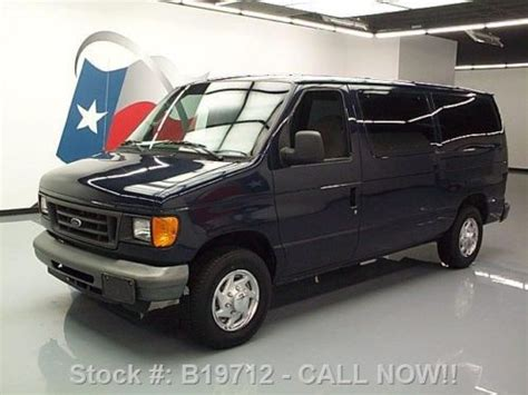 auto repair manual online 2004 ford e150 lane departure warning sell used 2004 ford e 150 xl cargo van 4 6l v8 cruise control 56k texas direct auto in stafford