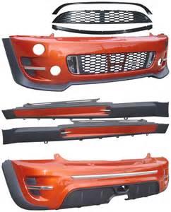 Mini Cooper S R53 Accessories Mini Cooper S R53 2000 2006 Jcw Style Kit Cargym