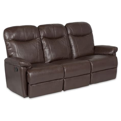 brown recliner sofa leather recliner sofa 3 seater kronos dark brown price