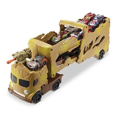 New Mainan Diecast Wheels Guardians Of The Galaxy Vol 2 Gamora guardians of the galaxy wheels groot hauler mattel guardians of the galaxy vehicles