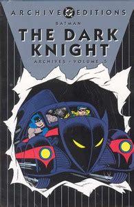 libro batman hc vol 9 batman archives hc vol 06