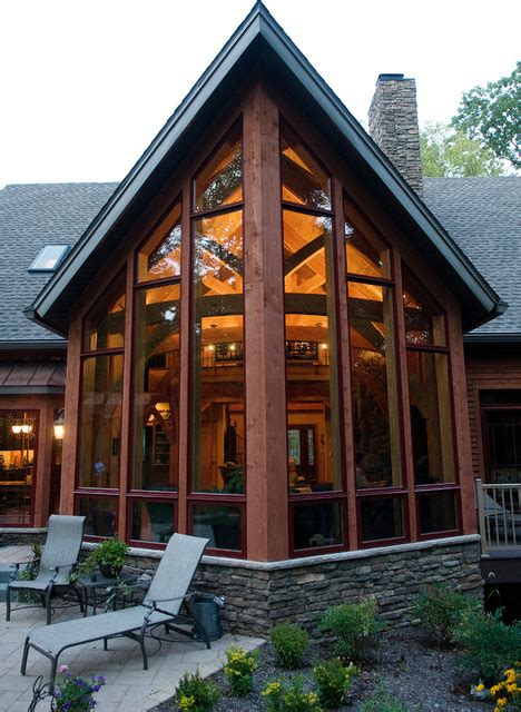 a frame home designs custom home timber frame contemporary exterior