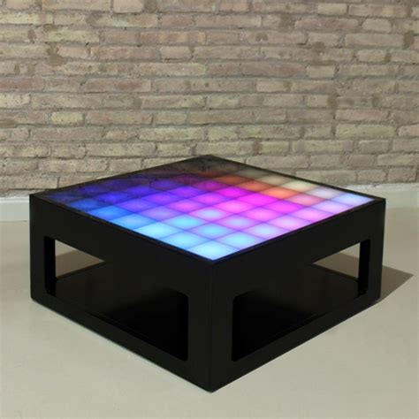 coffee tables with led lights interactive coffee table with led lights mypixeek