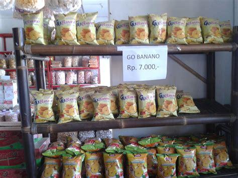 rumah cinta keripik pisang gobana cemilan enak
