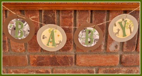 Forest Friends Baby Shower Decorations by And Pretties Forest Friends Baby Shower