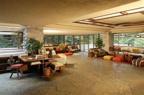 falling water interior margy s musings frank lloyd wright falling waters