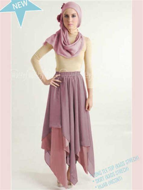 Rok Siffon hijabers zigzag justme fashion shop