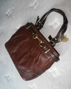 Rur20225 Tas Fashion Import Tote Lv Brown brand new coach htons tobacco brown leather carryall shoulder bag tote wow ebay