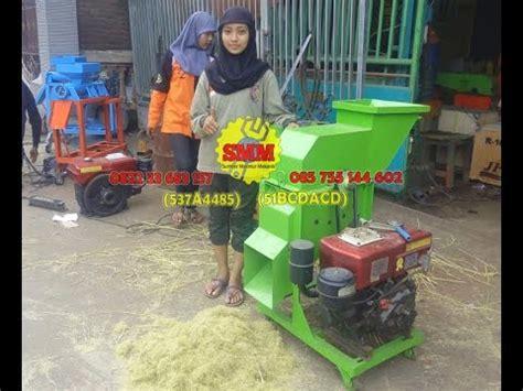 Pakan Ternak Janggel Jagung mesin choper serbaguna pencacah jerami rendeng kedelai