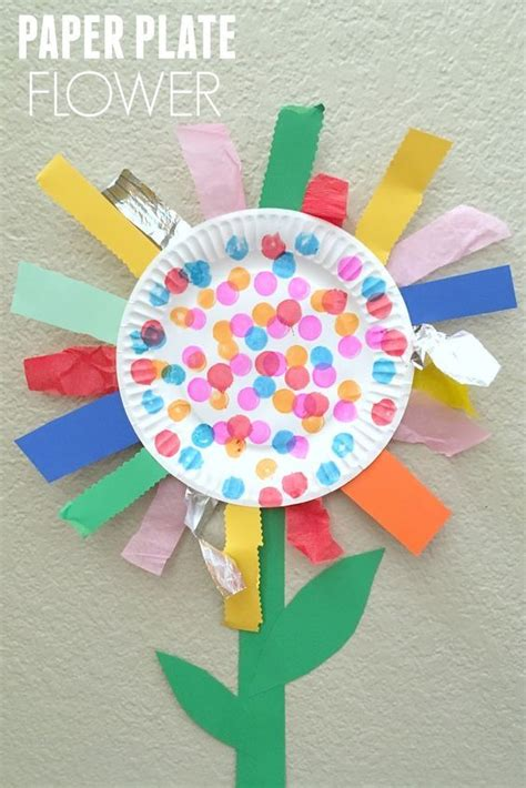 craft toddler 25 best ideas about flower crafts on paper