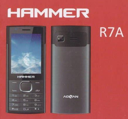Tablet Advan R7 advan hammer r7a ponsel fitur dual sim 300 ribuan smartphonely