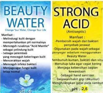 Strong Acid Water 1100ml Paket Kecantikan By Kangen Water jual water strong acid 120ml harga 1 paket by