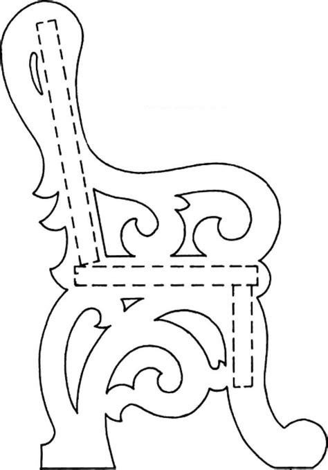 Victorian Doll Chair Scroll Saw Woodworking Archive Scroll Saw Designs Templates