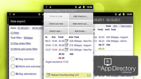 time tracking app android the best time tracking application for android