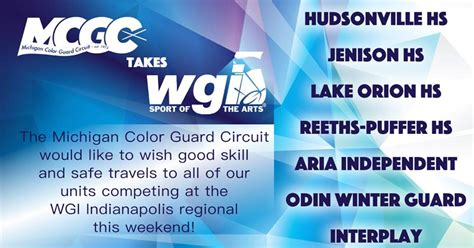 color guard circuit michigan color guard circuit 2018 my