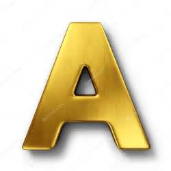 the letter a in gold stock photo 169 zentilia 8292934