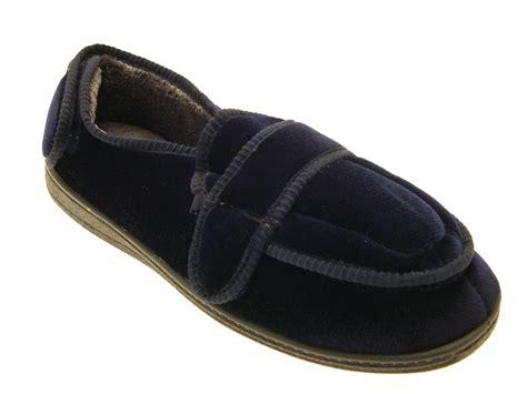 diabetic slippers for mens diabetic orthopaedic memory foam comfort slippers