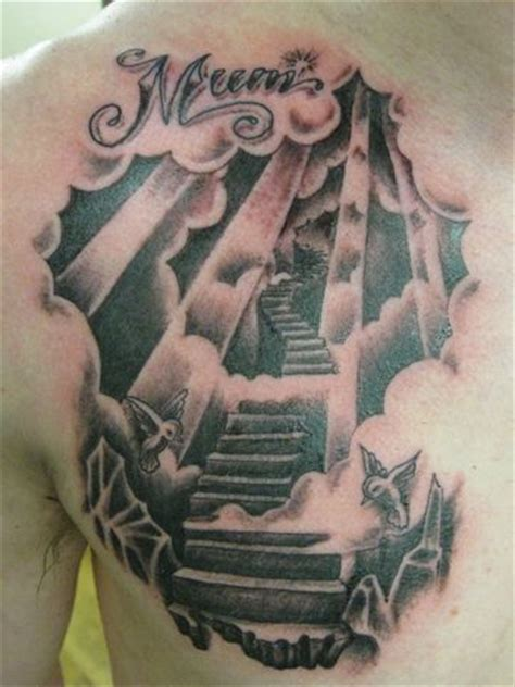 stairway tattoo designs stairway to heaven tattoos