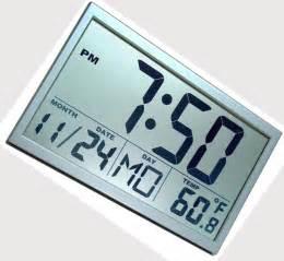 wall clock digital large digital wall clock
