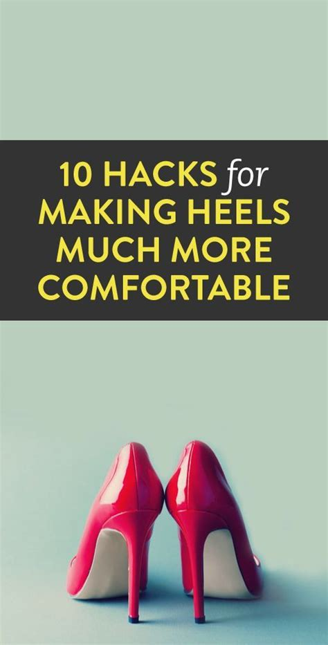 more comfortable shoes 10 tricks for making your heels more comfortable shoes
