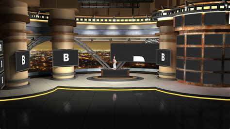 Design Your Own Virtual Home Virtual Set Studio 172 For After Effects Is A News Set