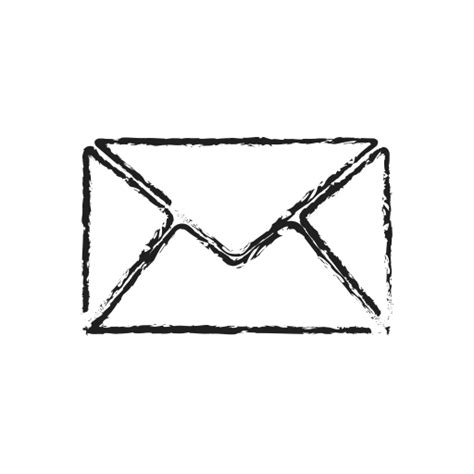 doodle 4 email contact email envelope letter mail post icon icon