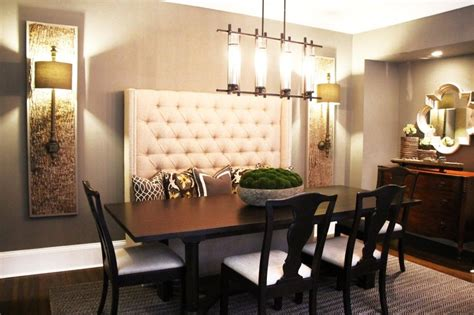 image result  high  bench seat dining dining room