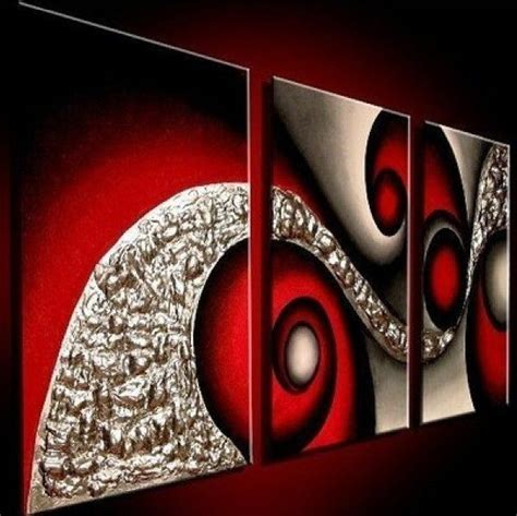 large modern abstract painting wall deco canvas - Large Modern Canvas Wall