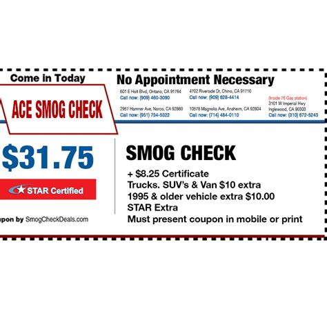 Background Check Near Me Ace Smog Check Coupons Near Me In Inglewood 8coupons