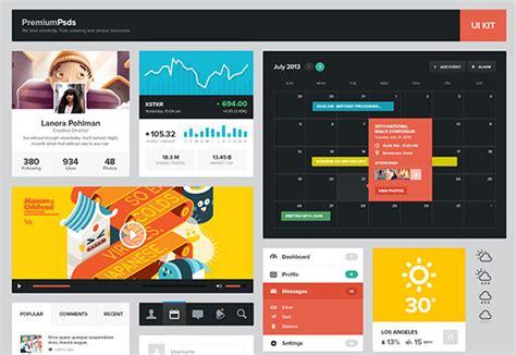 design calendar online 20 best free ui kits with amazing designs