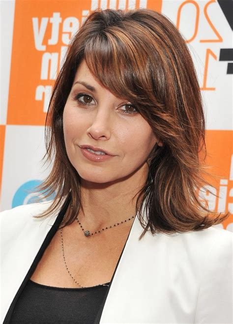 medium curly hairstyles styles weekly gina gershon haircut best medium length hairstyle for
