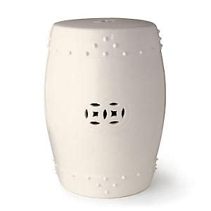 White Garden Stools by Ericagail Garden Stools So Useful And Now Extremely