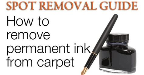 How To Remove Ink From A by How To Remove Ink Stains From Carpet Ink Stains On