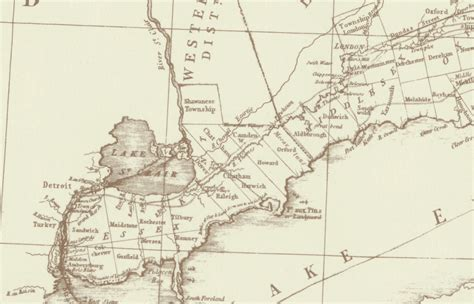 map of the thames river in ontario the journals of nathan bangs
