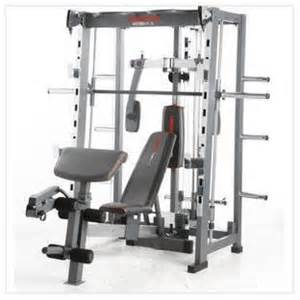 500 weider home smith machine weight bench for sale