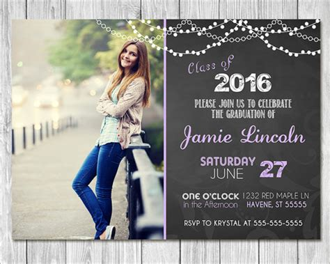 26 Graduation Invitation Templates Free Word Designs Free Printable Graduation Invitation Templates