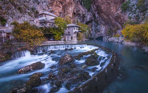 blagaj tekija beautiful monastery   river buna mostar